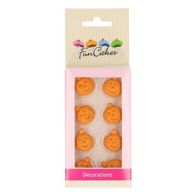 Citrouilles en sucre x8 Funcakes