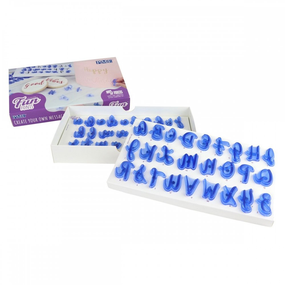 Sweet stamps - tampons alphabet PME