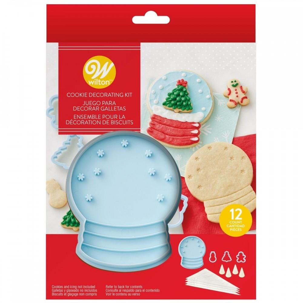 Kit Emporte-pièce biscuit boule à neige