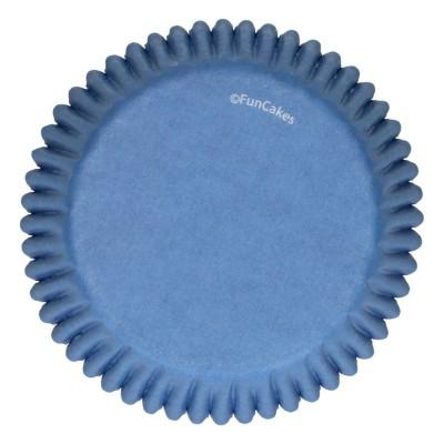 Caissettes bleu roi x48 funcakes