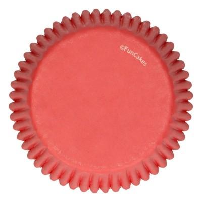 Caissettes rouges x48 funcakes