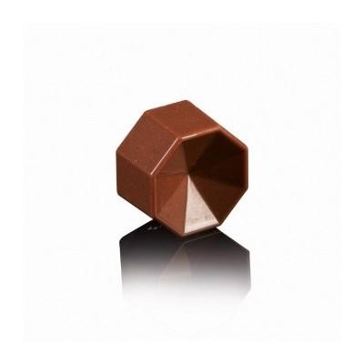 Moule à chocolat Prisma octogone