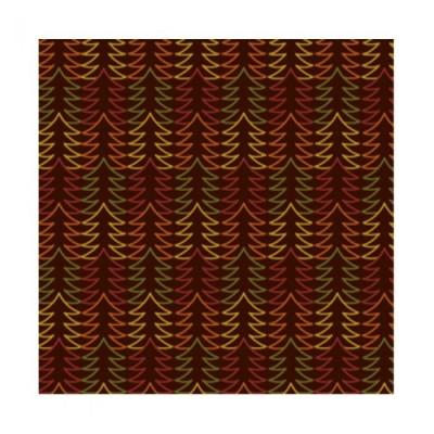 Feuilles de transfert forêt de sapins multicolores x4 Valrhona