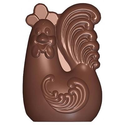 Moule à chocolat Coq élégant