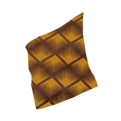 Feuilles de transfert plumes jaunes x4 Valrhona
