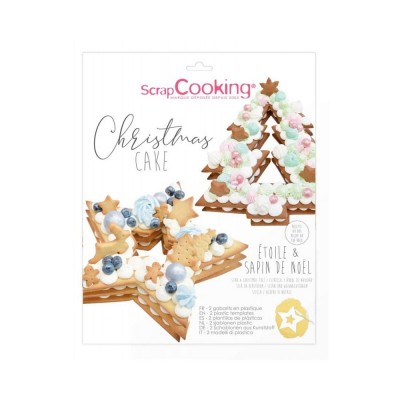 Kit Christmas cake scrapcooking