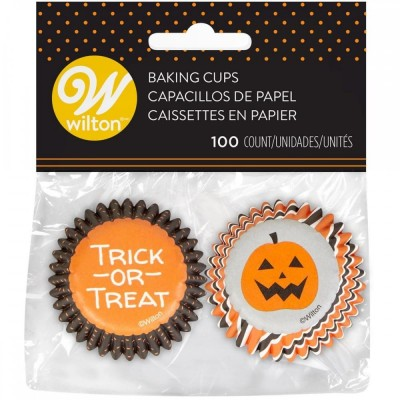 Mini caissettes Trick or treat x100 wilton