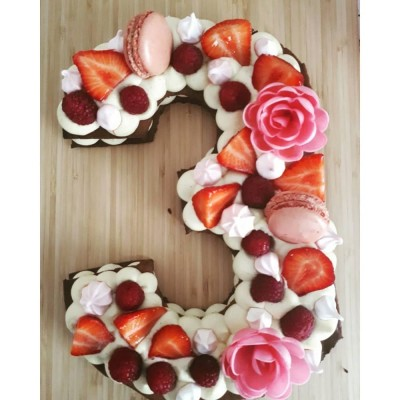 Gabarit 3 pour Number cake