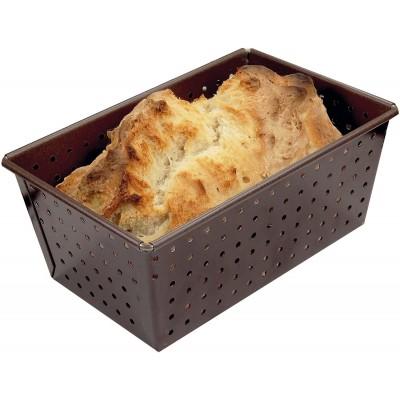 Moule à pain perforé anti-adhérent 16cm Gobel