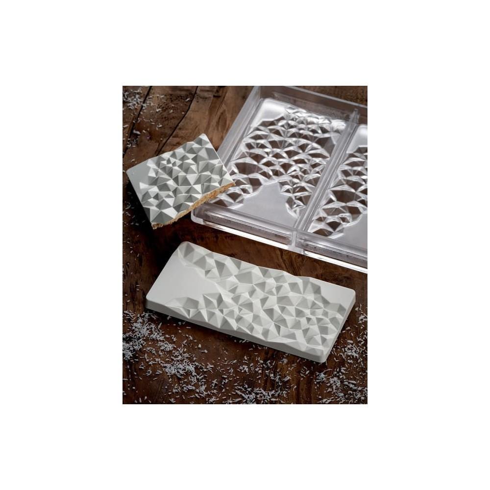 Moule à chocolat tablette fragments pavoni