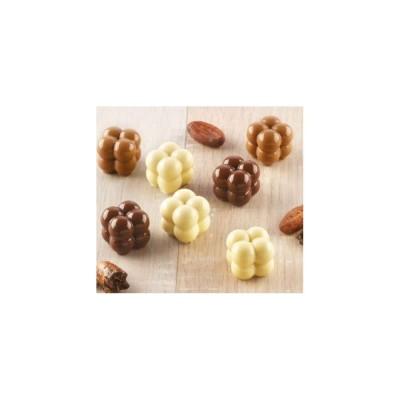 Moule à chocolat en silicone Choco game silikomart