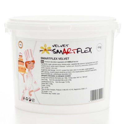 Smartflex pâte à sucre blanc velours vanille