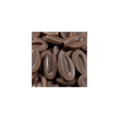 Caranoa 55% - Chocolat de couverture noir en fèves 200g VALRHONA