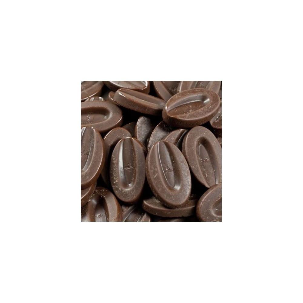 Caranoa 55% - Chocolat de couverture noir en fèves 500g VALRHONA