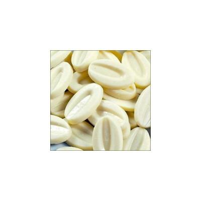 Chocolat de couverture blanc Ivoire 35% de cacao en fèves 200g VALRHONA