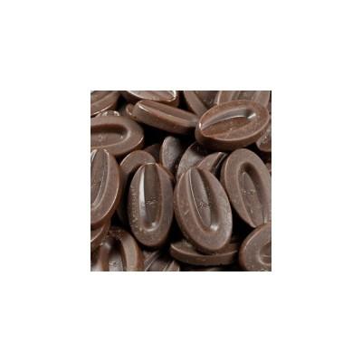 Chocolat de couverture noir Manjari 64% de cacao en fèves 200g VALRHONA