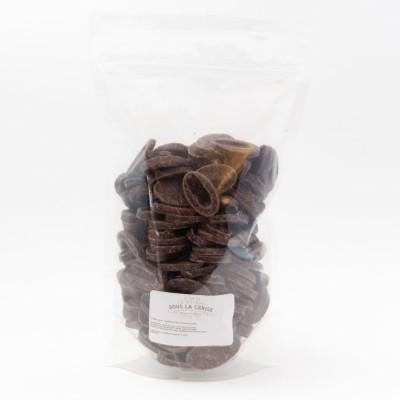 Caraïbe 66% - Chocolat de couverture noir en fèves 500g VALRHONA