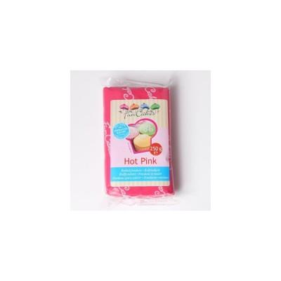 Pâte à sucre rose foncé 250g funcakes