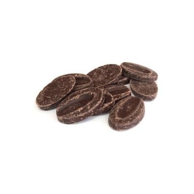 Illanka 63% - Chocolat de couverture noir pur Pérou en fèves 1kg VALRHONA