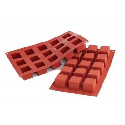 Moule en silicone 15 cubes silikomart