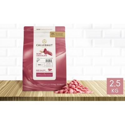 Chocolat RUBY RB1 47.3% 2,5kg Callebaut