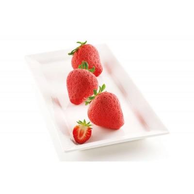 Moule en silicone fraises silikomart