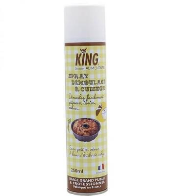 Spray de démoulage King (particulier et professionnel) 250ml
