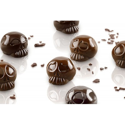 Moule à chocolat en silicone Amleto silikomart