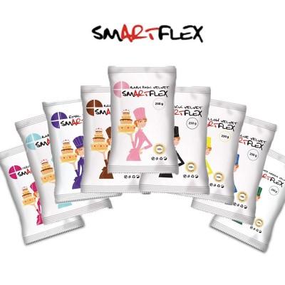 Pâte à sucre Smartflex 250g - Différentes couleurs