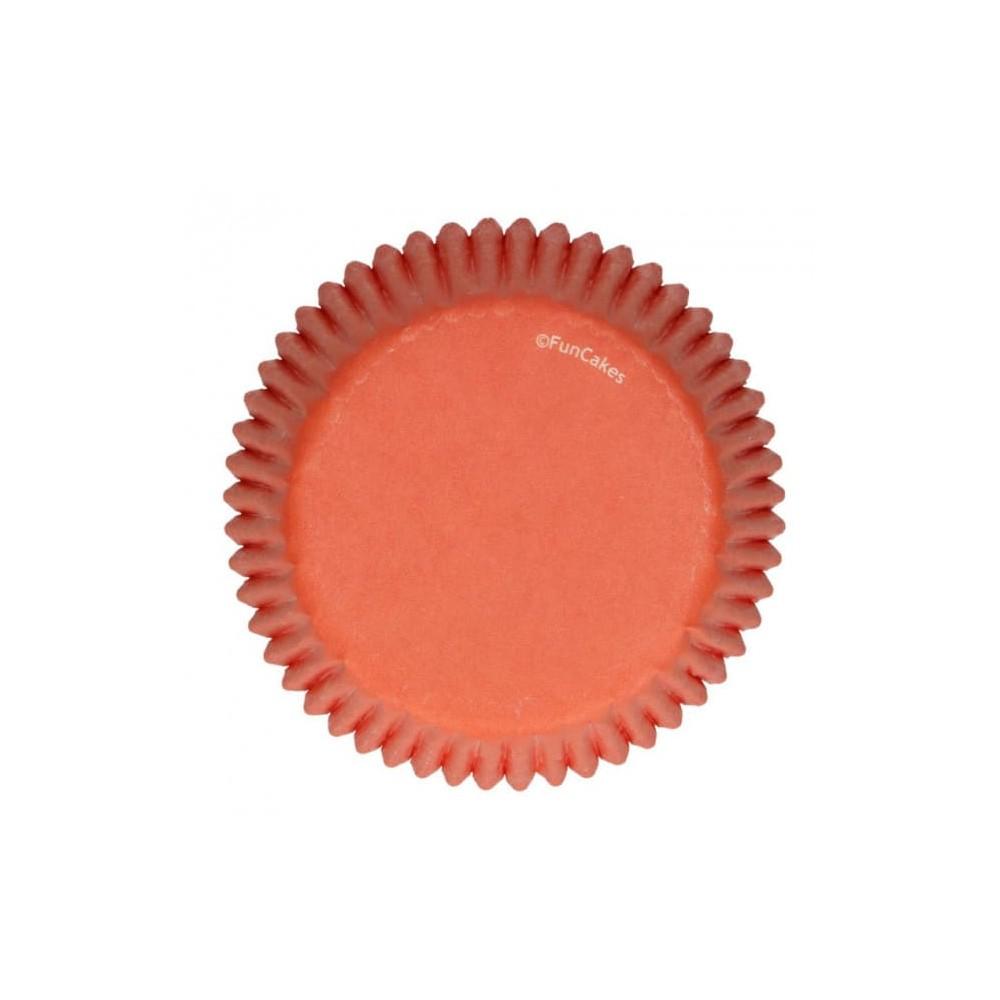Caissettes Orange x48 Funcakes