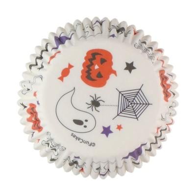 Caissettes Halloween x48 Funcakes