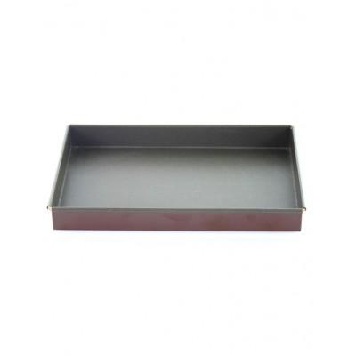Caisse à génoise rectangulaire anti-adhésive 35x25cm Mallard ferrière