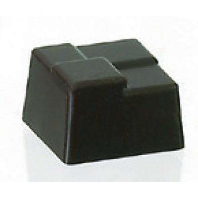 Moule à chocolat en polycarbonate carrés cannage