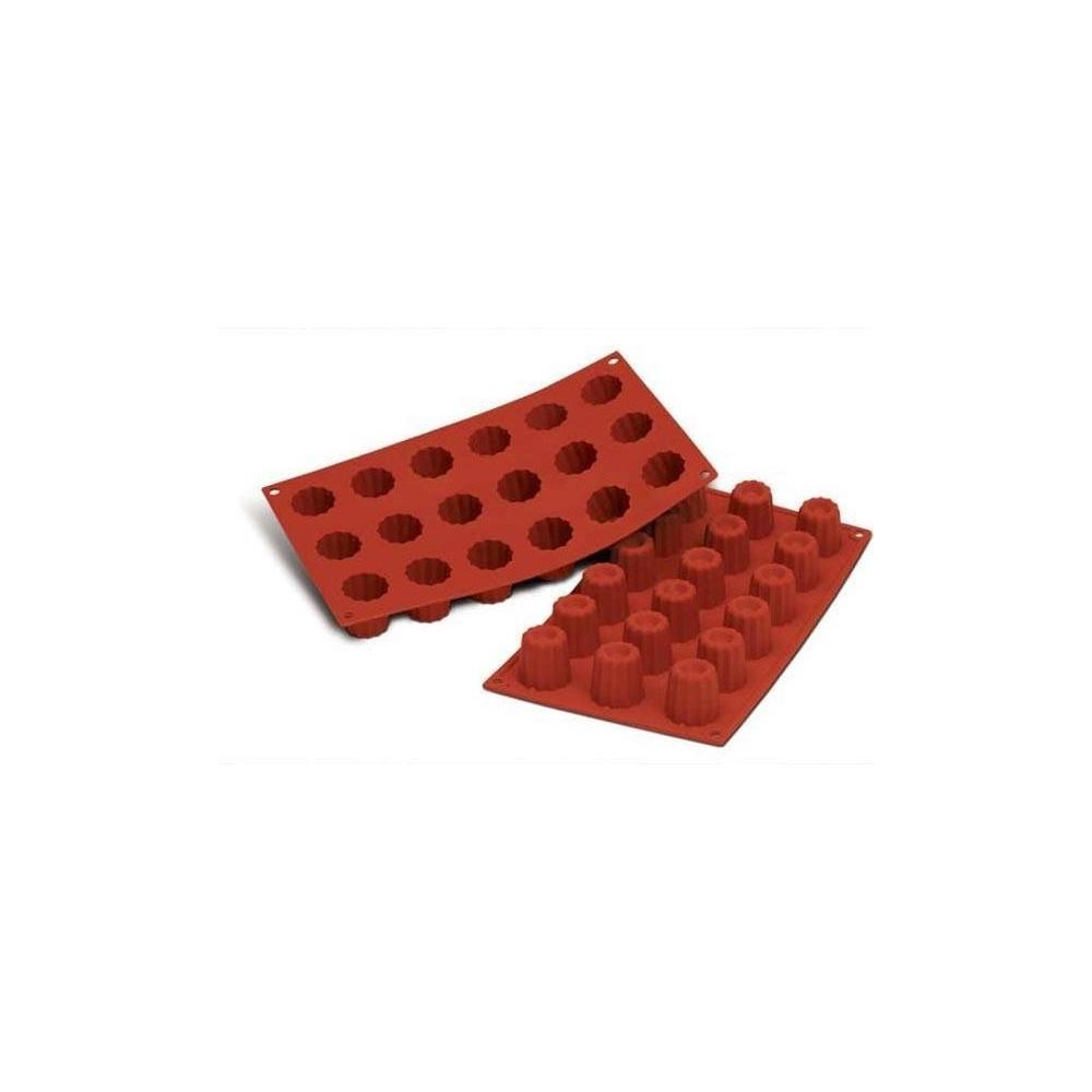 Moule en silicone mini canelés bordelais